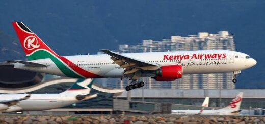 Kenyan airports, Kenya airways
