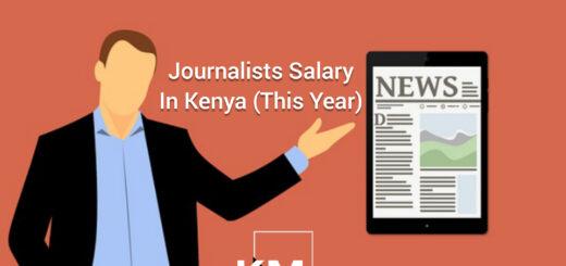 A Kenyan Journalist