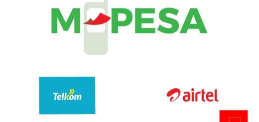 Buy Airtime Via M-Pesa (Airtel & Telkom)