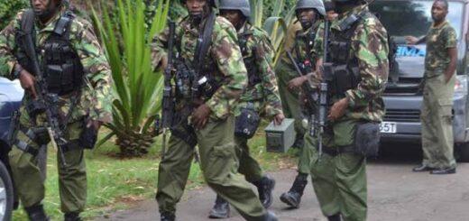 Recce Squad Commandos in Kenya
