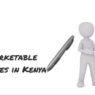 Marketable TVET Courses In Kenya