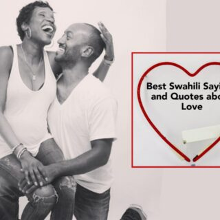 Best Swahili Sayings and Quotes About Love