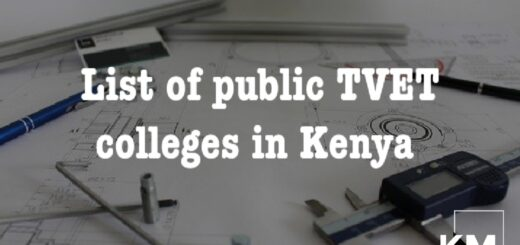 List of public TVET colleges in Kenya