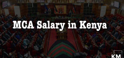 MCA Salary in Kenya