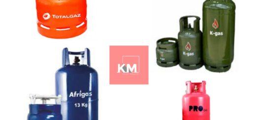 Cooking Gas (Cylinder) Brands in Kenya