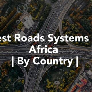 Countries in Africa with quality roads