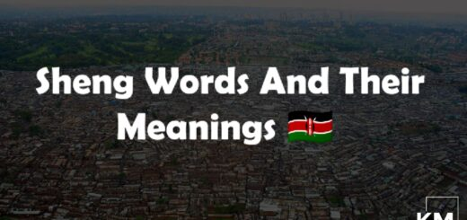 Sheng Words And Their Meanings