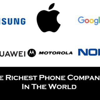 Richest mobile phone companies