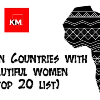 African Counties with beautiful women